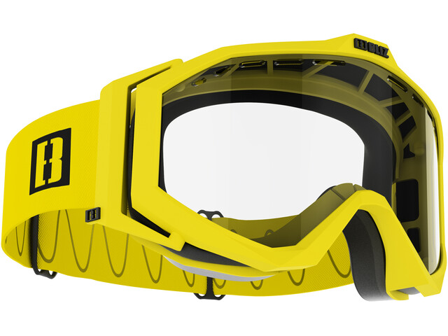 Bliz Edge Drop Bril, matt yellow/clear